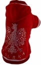 Bluza czerwona POLSKA r.7/16kg