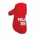 Bluza czerwona POLICE DOG r.6/10 kg