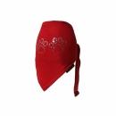 Apaszka PAW cyrkonia czerwona r.0/do18cm