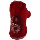 Bluza czerwona YING YANG r.4/6 kg