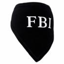 Apaszka czarna FBI r.0/do18cm