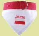 Obroża POLSKA r.2 (dł.28-37cm)