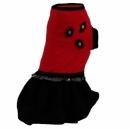 Sukienka czarno/czerwona r.0/1,3 kg