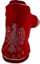 Bluza czerwona POLSKA r.6/10 kg