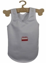 T-shirt sport biały POLSKA r.XL(7)/15kg