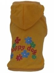 T-shirt żółty HAPPY DOG r.2/2,5 kg